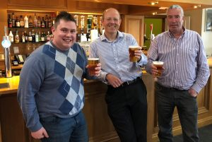 EBar 'Raising a Glass' in celebration